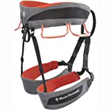 Black Diamond Momentum climbing belt grey/red (Size: S) climbing belt