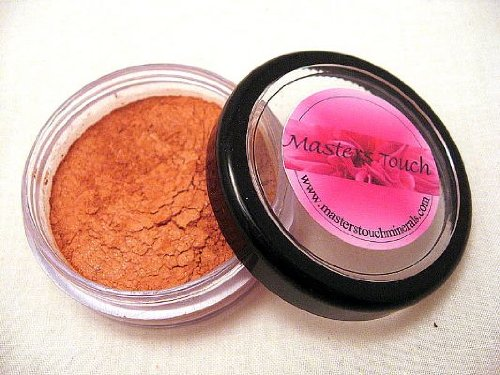 Soft Peach Blush, Master's Touch Minerals Makeup, Silk Perfection Formula, Pure Premium Natural Bare Mineral Cosmetics Powder