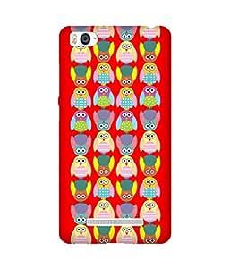 Stripes And Elephant Print-4 Xiaomi Mi 4i Case