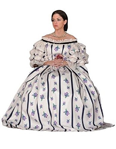 Tabi's Characters Women's Mary Todd Lincoln Civil War Era Theatrical Costume