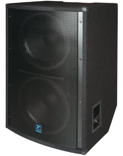 Yorkville Ls1004 Dual 18 Inch Subwoofer Bass Reflex 1200 Watts Passive 4 Inch Voice Coil