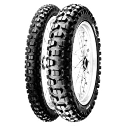 Pirelli MT 21 Tire - Rear - 130/90-18 , Position: Rear, Tire Size: 130/90-18, Rim Size: 18, Load Rating: 69, Speed Rating: R, Tire Type: Dual Sport, Tire Application: All-Terrain 0697900