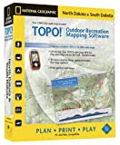 TOPO! National Geographic USGS Topographic Maps (South Dakota and North Dakota)