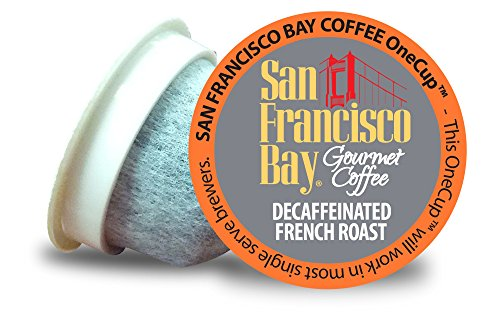 San Francisco Bay OneCup, Decaf French Roast, 36 Single Serve Coffees (San Francisco Bay Keurig Coffee compare prices)