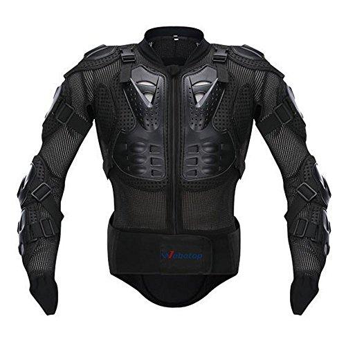 Webetop giacche moto Parts Full Body Abbigliamento di protezione della colonna vertebrale toracica Armatura Off Road Protector Motocross corsa Protettori per torace, S