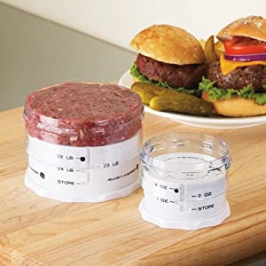 Adjust-A-Burger Press: Mini by Hamburger Presses