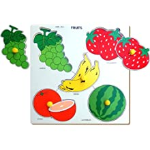 Little Genius Fruits Double Layer, Multi Color (Large)