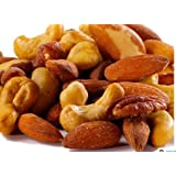 Organic, Raw, Soaked, Kosher Mixed Nuts - One Pound