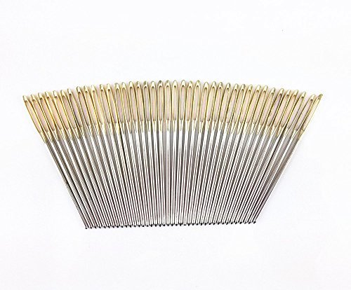 yueton-40pcs-27-inch-metal-large-eye-blunt-needles-yarn-needles-for-knitting-crochet-projects-gold-e
