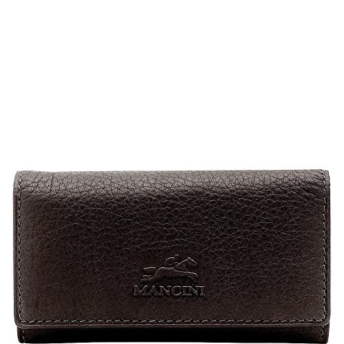 mancini-leather-goods-trifold-key-case-with-detachable-key-fob-brown