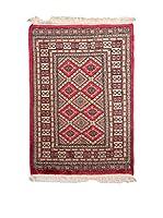 Navaei & Co. Alfombra Kashmir Rojo/Multicolor 119 x 80 cm