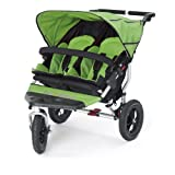 Out n About Double Nipper 360 v3 Narrow TWIN Baby Pushchair (Mojito Green)