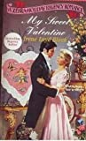 img - for My Sweet Valentine (A Zebra Holiday Regency Romance) book / textbook / text book