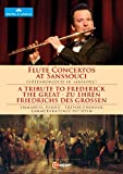 フリードリヒ大王のコンサート (Flute Concertos at Sanssouci ~ A Tribute to Frederick The Great / Emmanuel Pahud , Trevor Pinnock , Kammerakademie Potsdam) [DVD] [輸入盤・日本語解説書付]