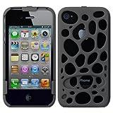 Amazon.co.jpFreshfiber Freshfiber Double Cap Macedonia for iPhone 4S/4(Grey) FF-74191504