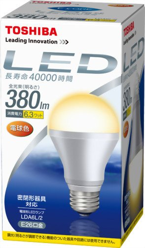 E-CORE LDA6L/2 [電球色]