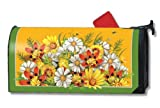 MailWraps Summertime Bouquet Mailbox Cover #09223