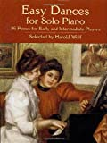 img - for Easy Dances for Solo Piano (Dover Music for Piano) book / textbook / text book