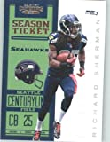 2012 Panini Contenders Playoff Season Ticket # 86 Richard Sherman - Seattle Seahawks (NFL Football Trading Card) at Amazon.com