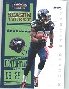 2012 Panini Contenders Playoff Season Ticket # 86 Richard Sherman Seattle Seahawks... by 2012 Contenders Football