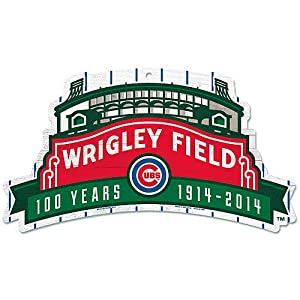 Buy Chicago Cubs Wrigley Field 100 Years Wood Sign by WinCraft by WinCraft