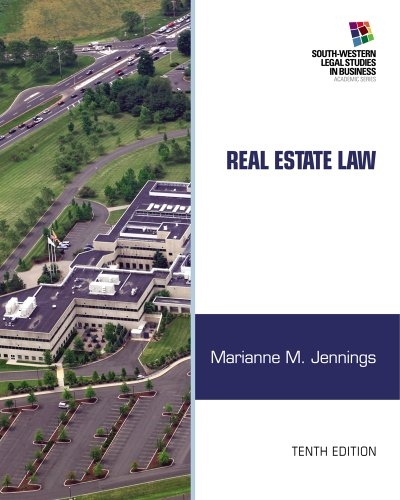 Real Estate Law (South-Western Legal Studies In Business Academic) front-786892