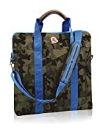 Invicta Bolso shopping Pc-Tablet Office (Verde Camuflaje)