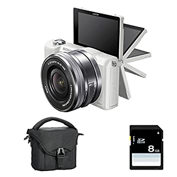 SONY ALPHA 5000 BLANC + 16-50 + Sac + SD 4 Go