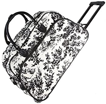 World Traveler 21 Inch Rolling Duffel Bag 2