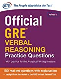 Official GRE Verbal Reasoning Practice Questions: 1