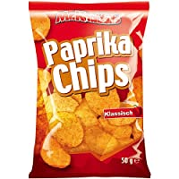 Mr.Knabbits Paprika (Red Pepper) Chips 50g