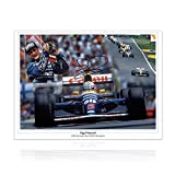 Nigel Mansell Signé Photo: 1992 Champion du Monde...