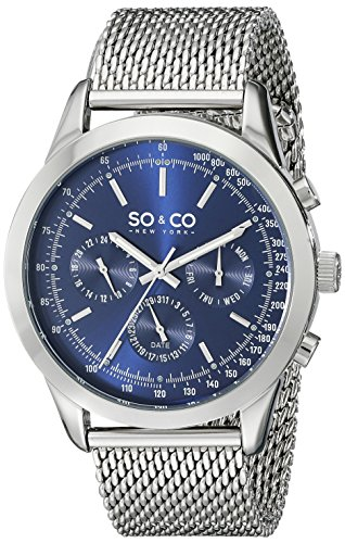so-co-new-york-monticello-mens-quartz-watch-with-blue-dial-analogue-display-and-silver-stainless-ste