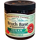 Orrington Farms Vegan Vegetable Broth Base & Seasoning, 6 Ounce (Pack of 6)
