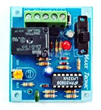 Motorcycle Car Burglar Alarm Security Alarm assembled 12VDC Electronic Circuit kit : MXA040