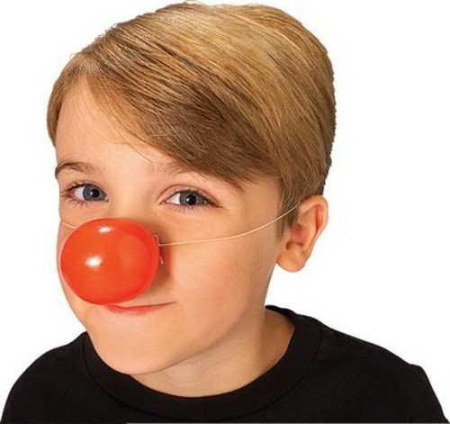Rubie's Costume Co Plastic Clown Nose Costume