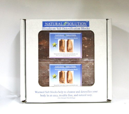 Foot Detoxification Blocks [5 Pieces] *** Product Description: Foot Detoxification Blocks Set Of 2 2X4X8 Bricksthese Natural Himalayan Salt Blocks Help To Cleanse Your Body In An Easy, Trouble-Free And Painless Way. Instructions ? Warm The Salt B ***