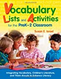 img - for Vocabulary Lists and Activities for the PreK-2 Classroom: Integrating Vocabulary, Children's Literature, and Think-Alouds to Enhance Literacy book / textbook / text book