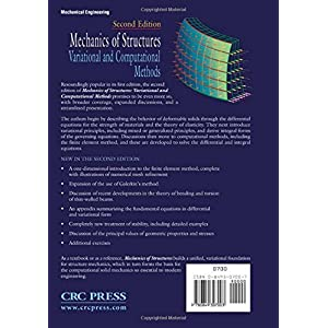Mechanics of Structures Variational and Computational Methods, 2nd Edition