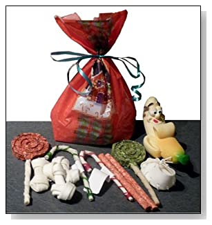 Holiday Stocking Pack 11pieces Small Dog