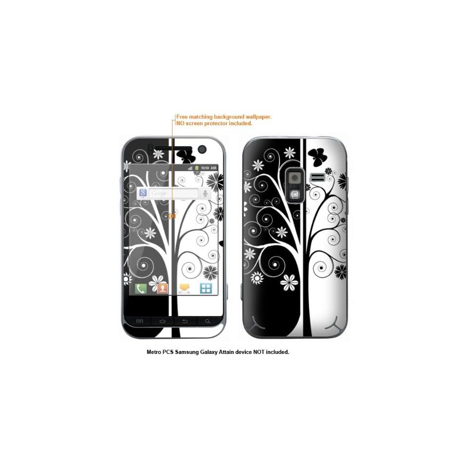 Protective Decal Skin Sticker for Metro PCS Samsung Galaxy Attain 4G case cover Attain 219