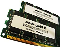 2GB Kit (2 X 1GB) PC3200 400MHz 184 pin DDR SDRAM ECC DIMM Server Memory RAM for Dell PowerEdge 360 (PARTS-QUICK BRAND)