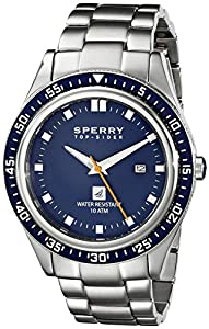 Sperry Top-Sider Men's 10008968 Navigator Analog Display Japanese Quartz Silver Watch by Sperry Top-Sider Watches MFG Code
