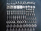100pcs Magic, Fairy, Wiccan, Pagan, Druid, Witch, Goddess Charms 2447