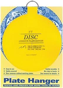 Flatirons Disc Adhesive Plate Hanger, 5.5-Inch