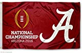 Alabama Crimson Tide 2016 Football Championship Flag