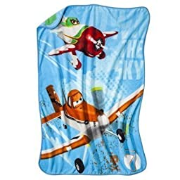 Disney PLANES Micro Raschel Throw Blanket 46\