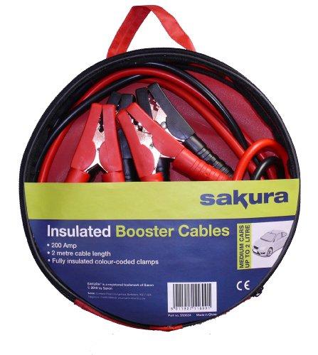 Sakura SS3624 200A 2m Booster Cables