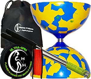 Amazon.com: Jester Diabolos + Aluminium Diabolo Sticks
