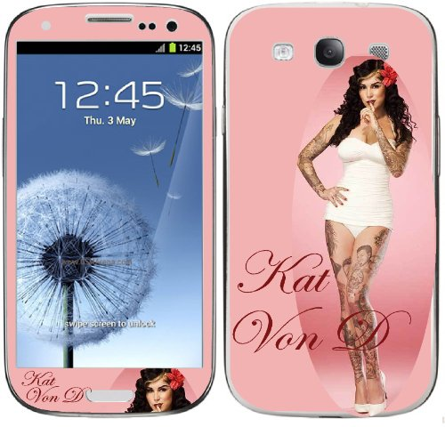 Samsung Galaxy S3 Kat Von D Decal Skins